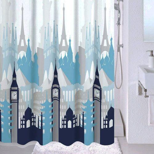 Штора для ванной Milardo Travel Memories
