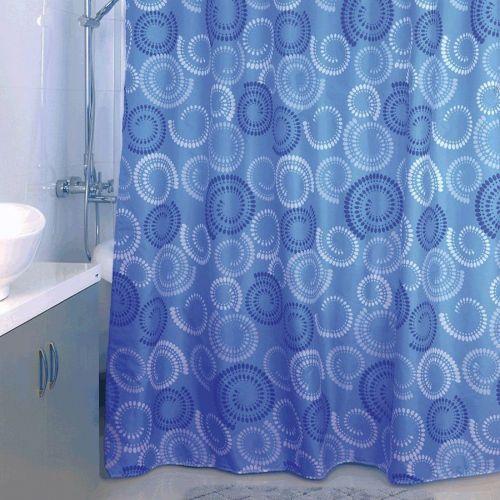 Штора для ванной Milardo Ultramarine Dots