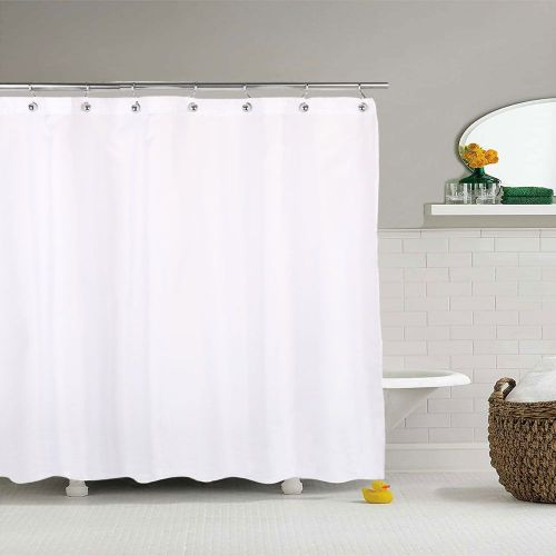 Штора для ванной R. Pla Liso Blanco LIS2026W 200х260 белая