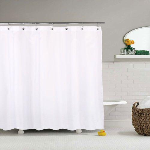 Штора для ванной R. Pla Liso Blanco LIS2420W 240х200 белая