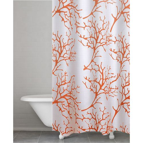 Штора для ванной Ridder Coral 403212 оранжевая