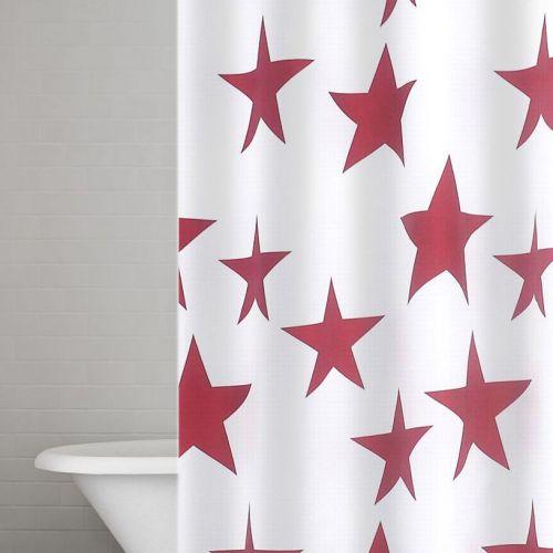Штора для ванной Ridder Star 403306 красная