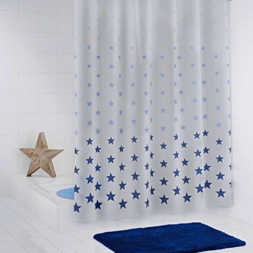 Штора для ванной Ridder Stella 32623 синяя