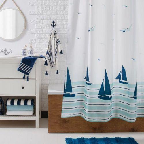 Штора для ванной Verran Barca