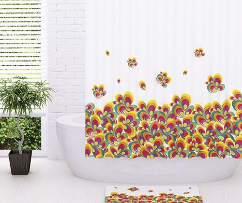 Штора для ванной Wasserkraft Leine SC-50101