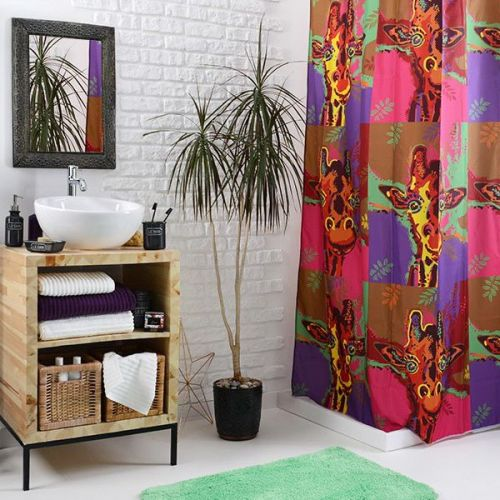 Штора для ванной Wess Pop-art