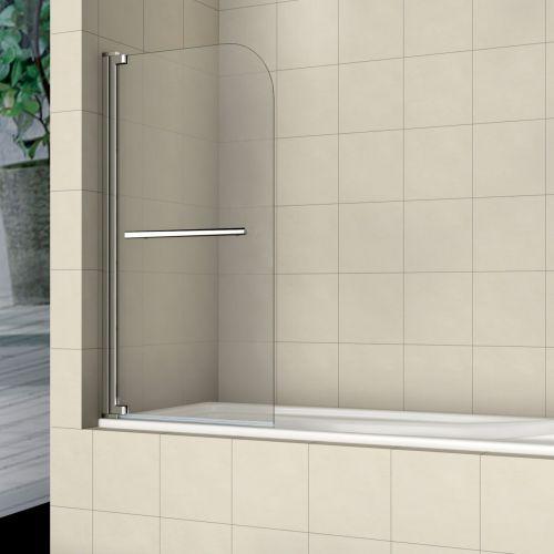 Шторка на ванну RGW Screens SC-02 1000x1500 с ручкой, стекло чистое