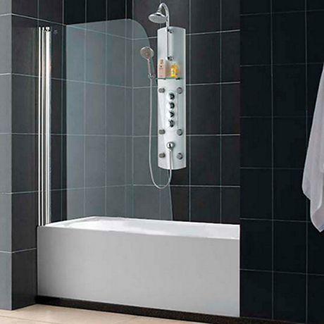 Шторка на ванну RGW Screens SC-36 700x1500 стекло чистое