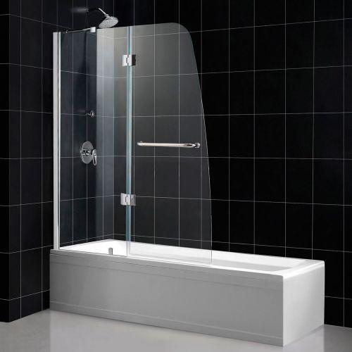 Шторка на ванну RGW Screens SC-13 900х1500 стекло чистое