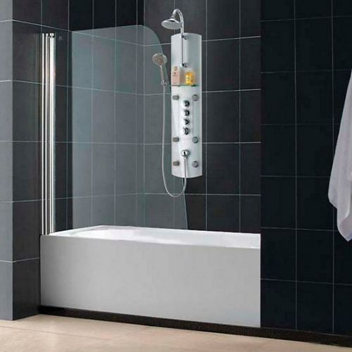 Шторка на ванну RGW Screens SC-36 900х1500 стекло чистое