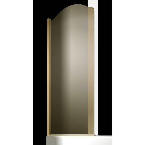 Шторка на ванну Sturm Juwel 90 см gold L