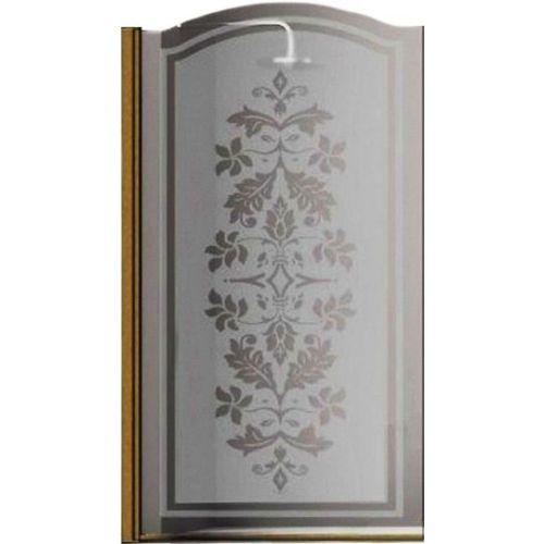 Шторка на ванну Sturm Juwel 90 см decor bronze L