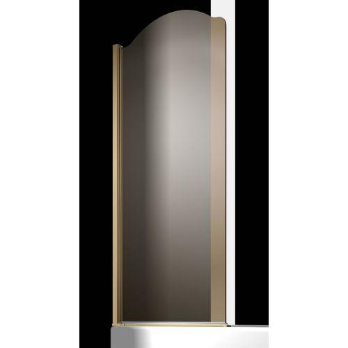 Шторка на ванну Sturm Juwel 90 см bronze L