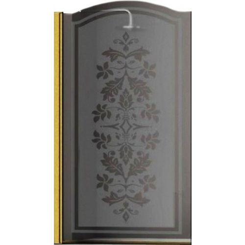 Шторка на ванну Sturm Juwel 90 см decor gold L