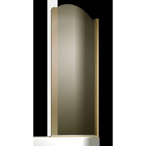 Шторка на ванну Sturm Juwel 90 см gold R