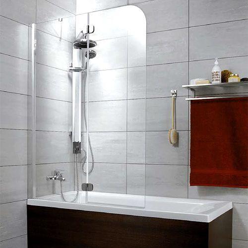 Шторка на ванну Radaway Torrenta PND 100 прозрачное стекло L