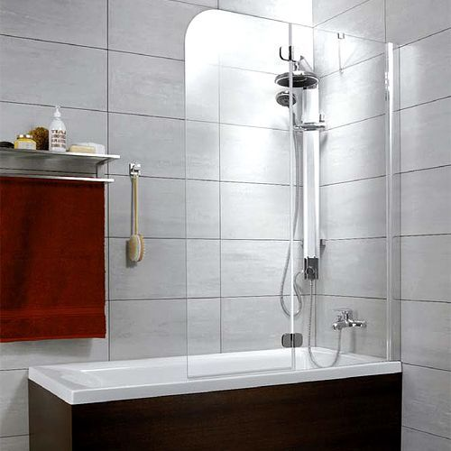 Шторка на ванну Radaway Torrenta PND 100 прозрачное стекло R