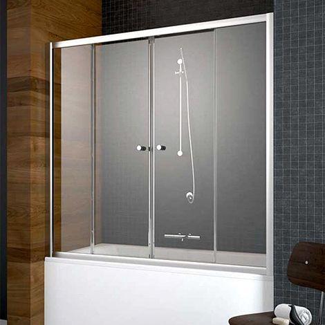 Шторка на ванну Radaway Vesta DWD 170 прозрачное стекло