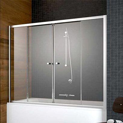 Шторка на ванну Radaway Vesta DWD 180 прозрачное стекло