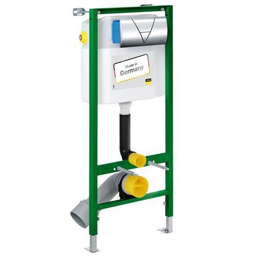 Система инсталляции для унитазов Viega Eco-WC 673192 4 в 1 с кнопкой смыва