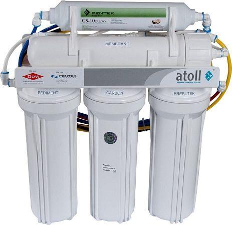 Система обратного осмоса Atoll A-560Em/A-550m STD с минерализатором