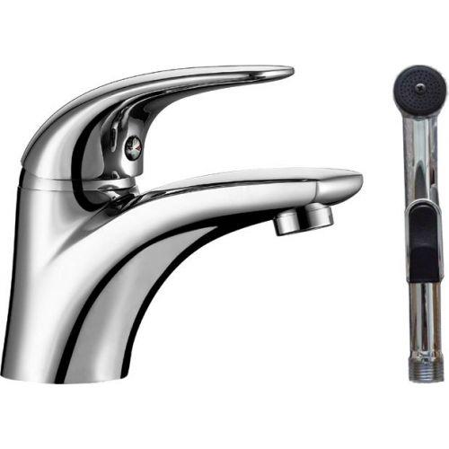 Смеситель Aquanet Cobra SD90363-3 для раковины с гигиеническим душем