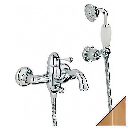 Смеситель Bandini Antico 855.120 Oro для ванны с душем