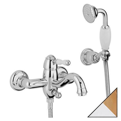 Смеситель Bandini Antico 855.620 CrOro для ванны с душем