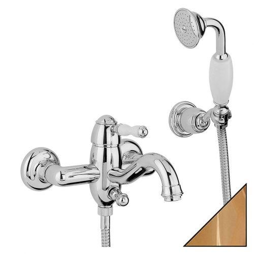 Смеситель Bandini Antico 855.620 Oro для ванны с душем