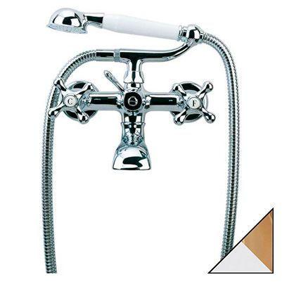 Смеситель Bandini Classic 603.920/21 CrOro для ванны с душем