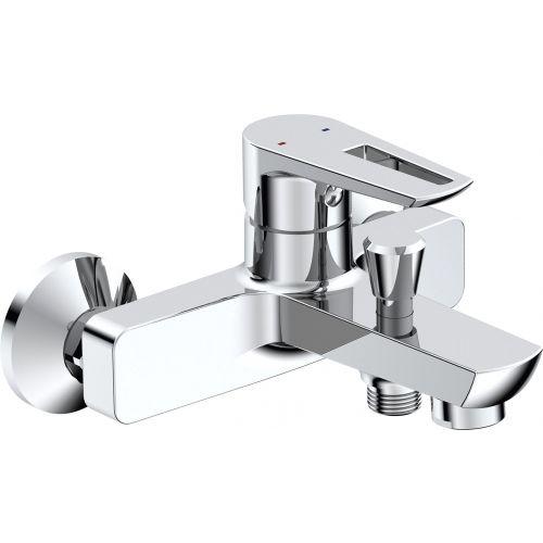 Смеситель BelBagno Rowena ROW VASM CRM для ванны с душем