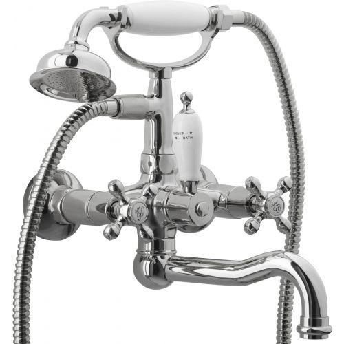 Смеситель Boheme Tradizionale Chromo 273 для ванны с душем