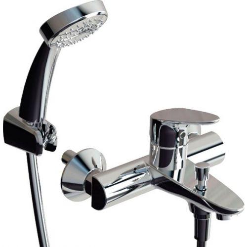 Смеситель Bravat Drop F64898C-B для ванны с душем