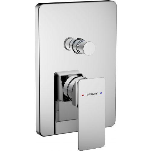 Смеситель Bravat Phillis PB856101CP-2-ENG для ванны с душем