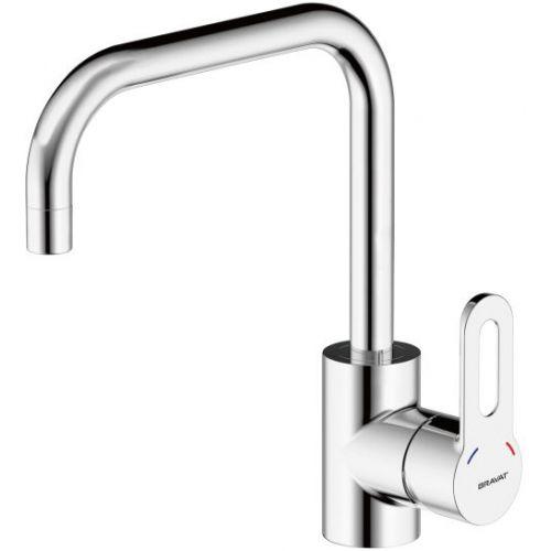 Смеситель Bravat Stream-D F737163C-2 для кухонной мойки