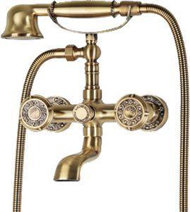 Смеситель Bronze de Luxe 10119 для ванны с душем