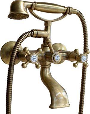 Смеситель Bugnatese Lady 902BR для ванны с душем, бронза