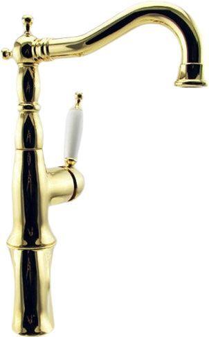 Смеситель Bugnatese Oxford 6317GO для раковины, золото