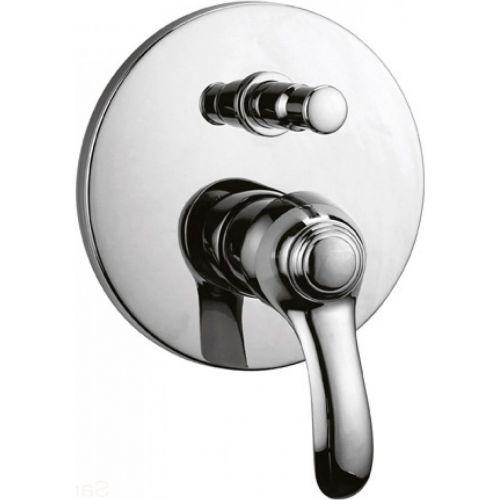 Смеситель Cezares Lira C VDIM 01 С ВНУТРЕННЕЙ ЧАСТЬЮ, для ванны с душем