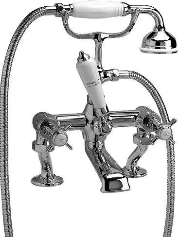 Смеситель Devon&Devon Coventry MARF20/BCR на борт ванны
