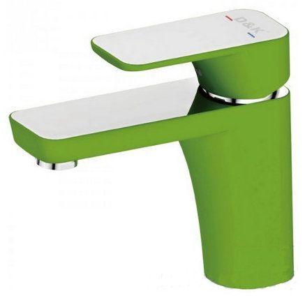 Смеситель D&K Berlin Humboldt DA1432212 для биде, зеленый