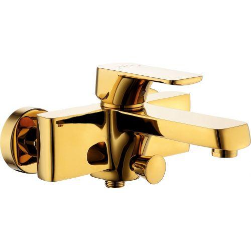 Смеситель D&K Berlin Touro DA1433203 для ванны с душем, золото