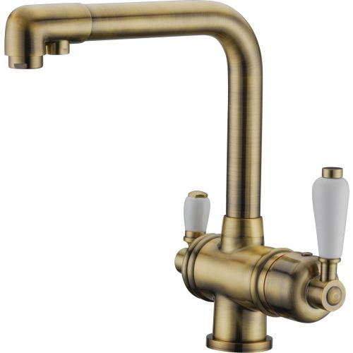 Смеситель Elghansa Kitchen Pure Water 56A5740-Bronze для кухонной мойки