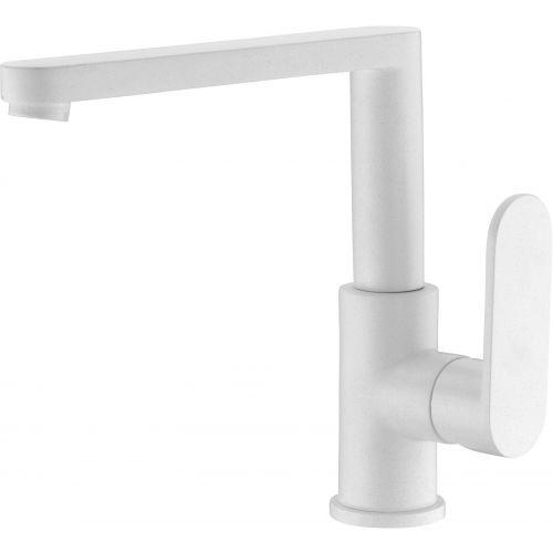 Смеситель Elghansa Platea 5601102-Stone White для кухонной мойки