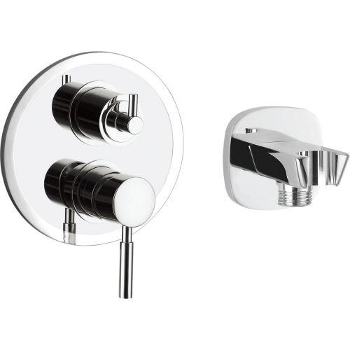 Смеситель Gllon GL-SV008CP+2109 С ВНУТРЕННЕЙ ЧАСТЬЮ, для ванны с душем