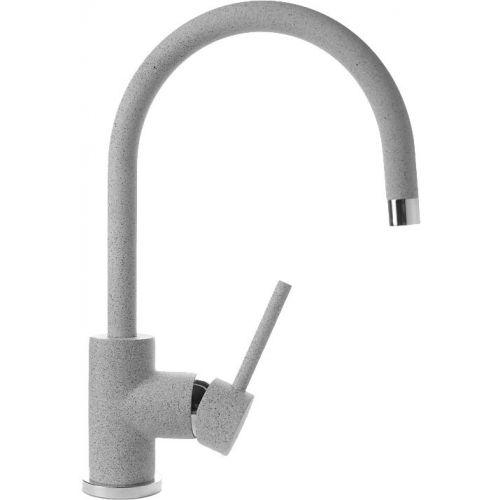 Смеситель GranFest 3023 для кухонной мойки, серый