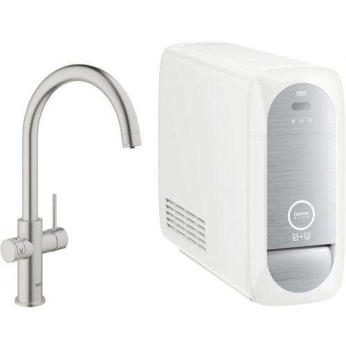 Смеситель Grohe Blue Home 31455DC0 с функцией фильтрации и газирования воды