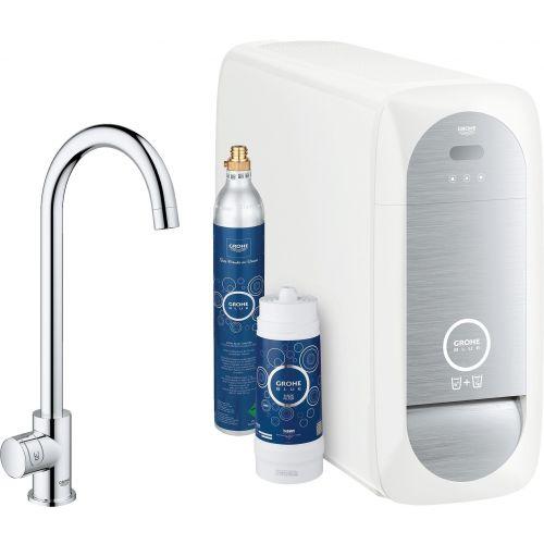 Смеситель Grohe Blue Home 31498000 с функцией фильтрации и газирования воды
