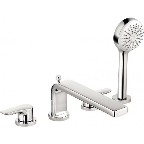 Смеситель Kludi Pure&Solid 344230575 на борт ванны