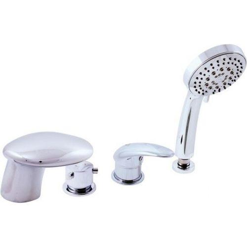 Смеситель Kolpa San Rav Slezak Cobra 100485 на борт ванны, хром